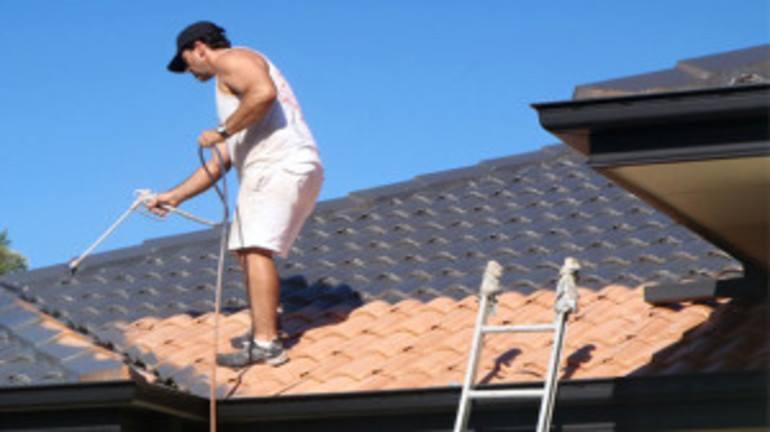 боядисване на покрив