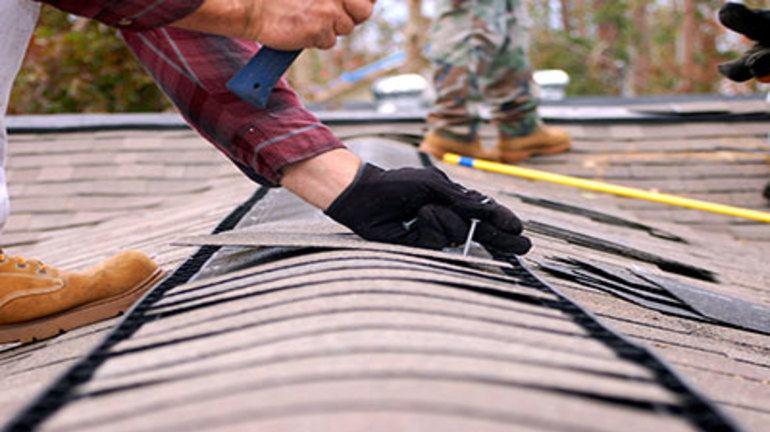 поправка на елементи по покрив