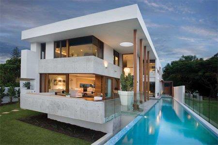 Къща с плосък покрив