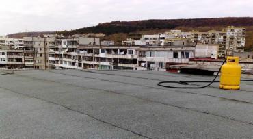 ремонт на покрив на панелен блок цени